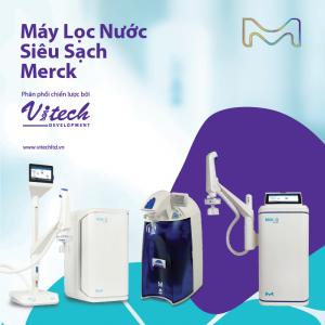 Máy lọc nước siêu sạch Merck