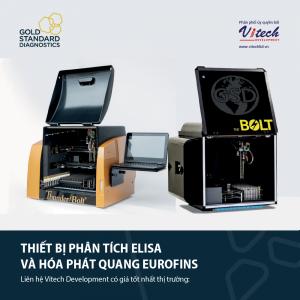 Thiết bị phân tích ELISA và hóa phát quang Eurofins
